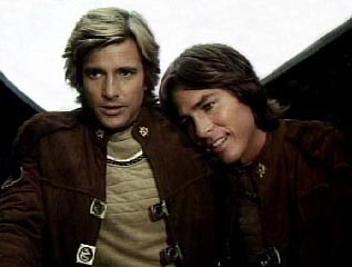 Starbuck and Apollo: Battlestar Galactica